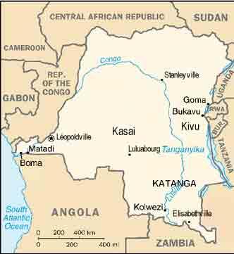 Les Commandos Katangais et Jean Schramme Congo